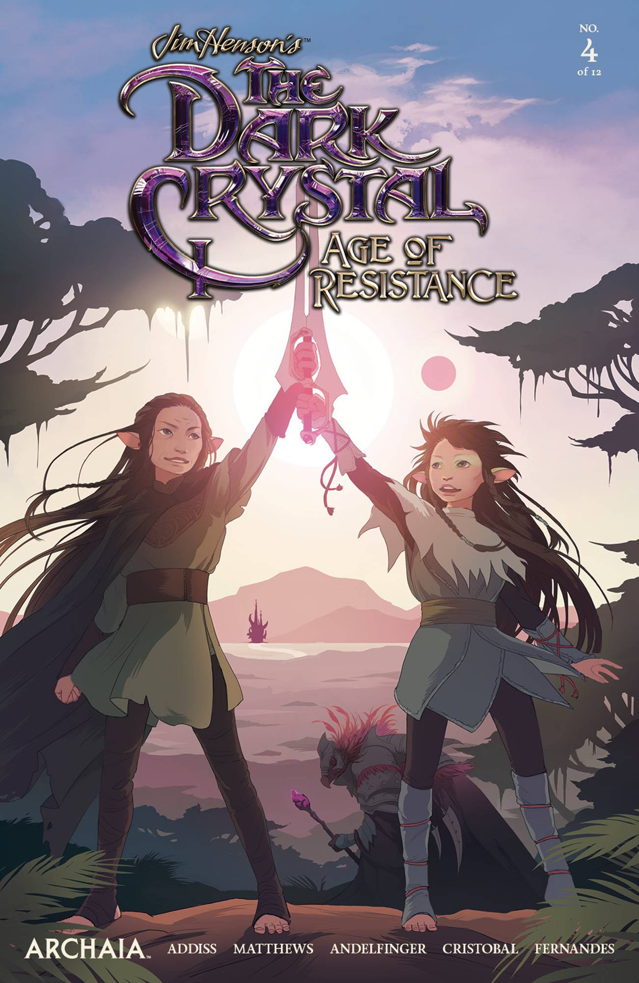 Jim Henson's The Dark Crystal: Age Of Resistance #4 (2019)