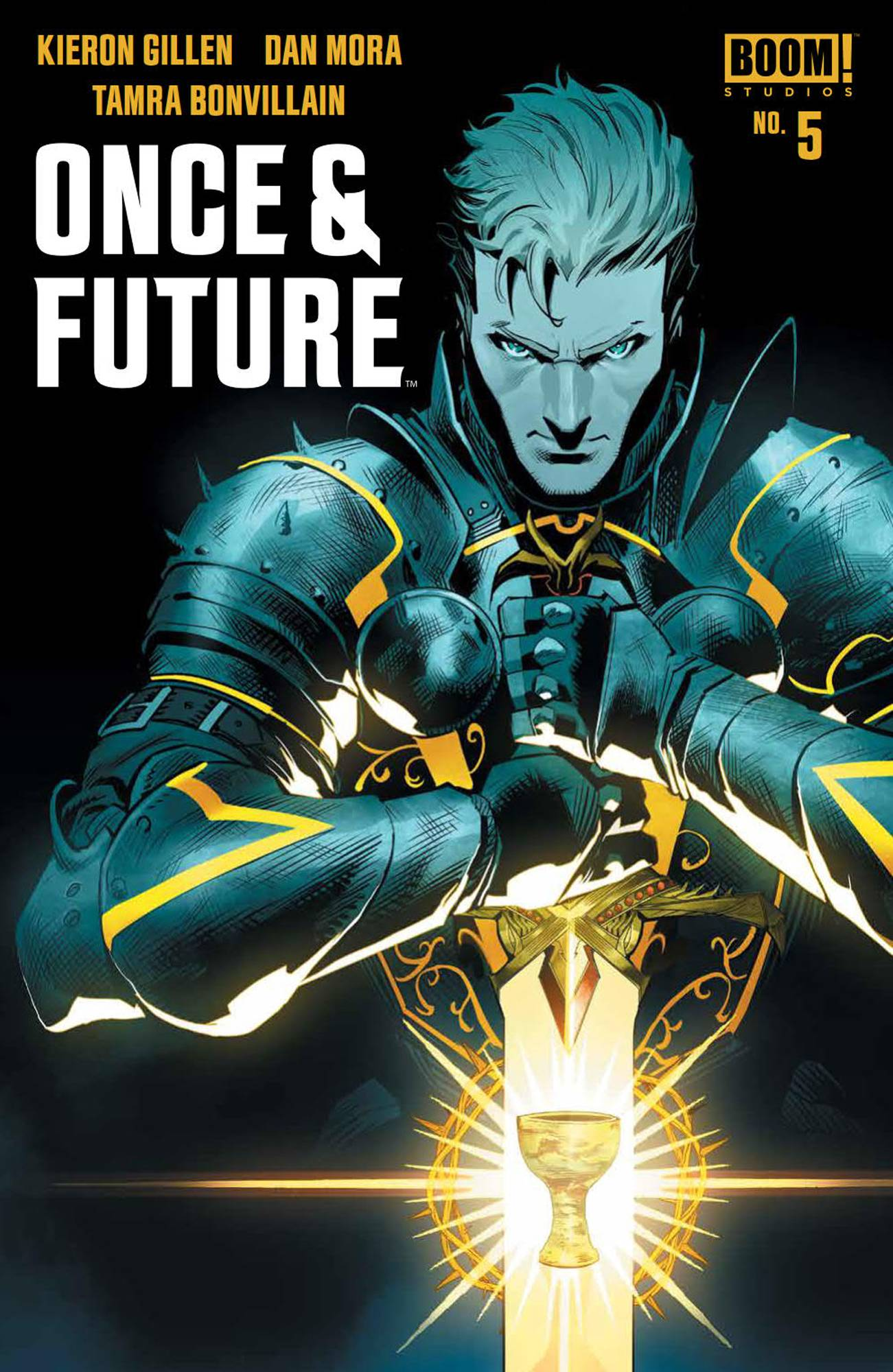Once & Future #5 (2019)