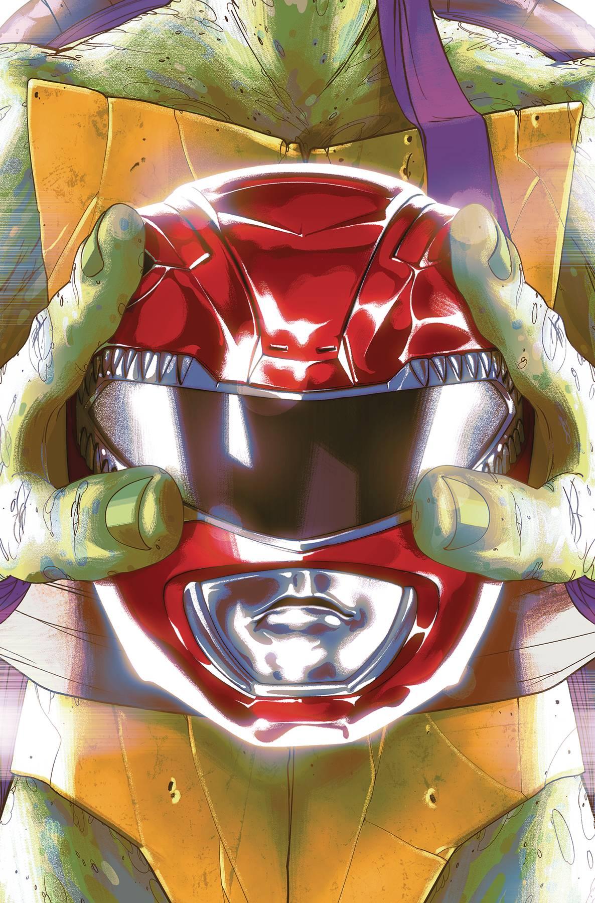 Mighty Morphin Power Rangers Teenage Mutant Ninja Turtles #1 (2019)