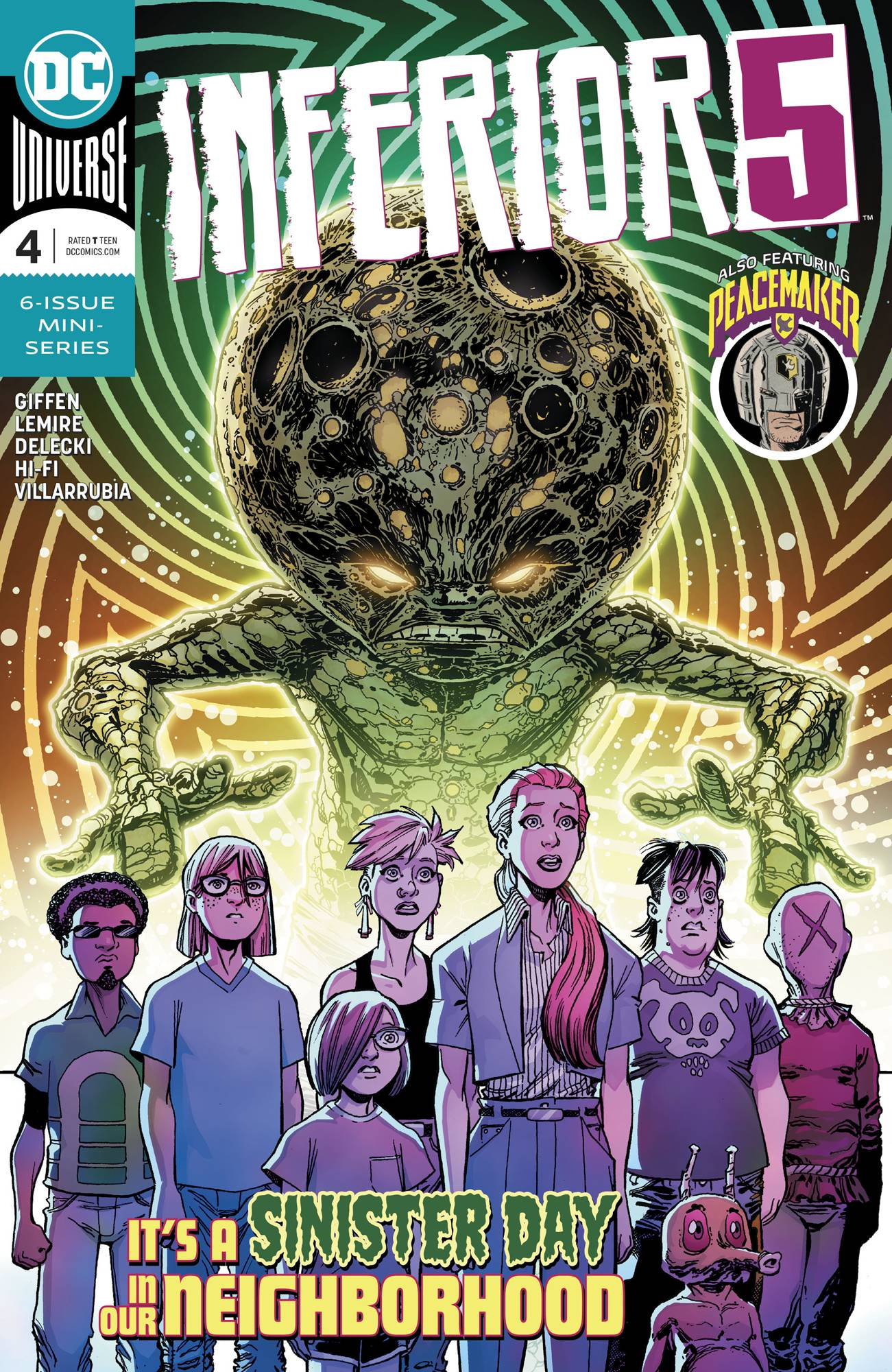 Inferior Five #4 (2019)