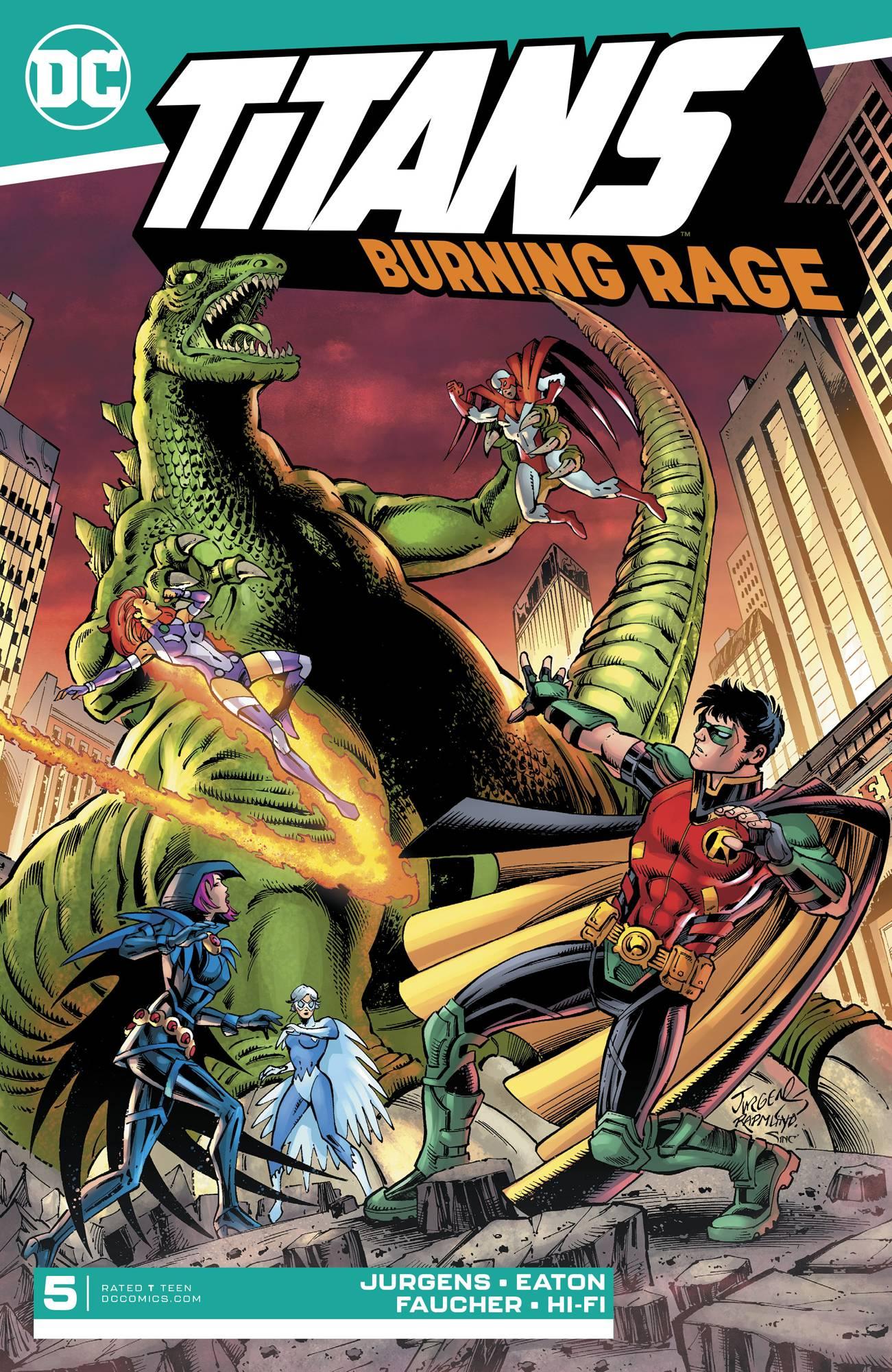 Titans: Burning Rage #5 (2019)