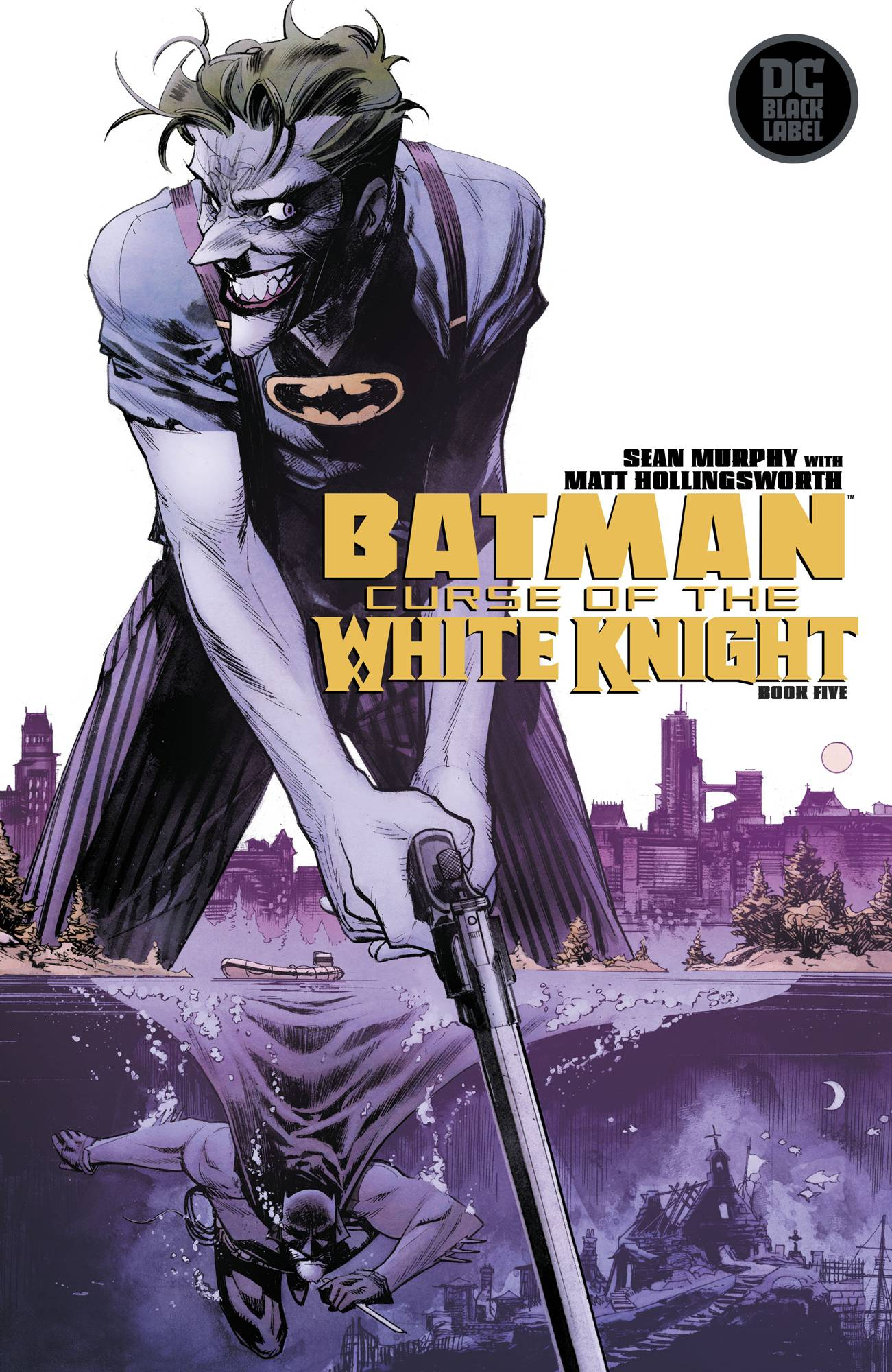 Batman: Curse Of The White Knight #5 (2019)
