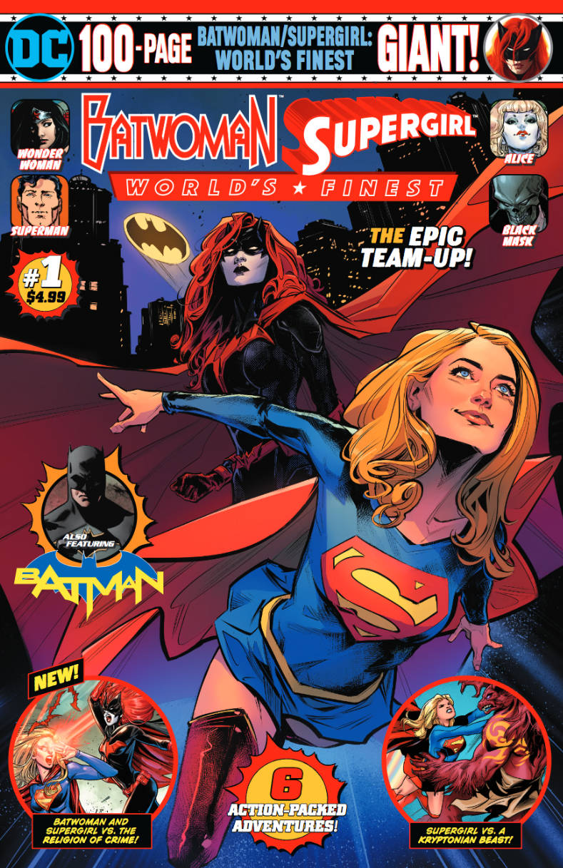 Batwoman / Supergirl: Worlds Finest 100-Page Giant (Walmart) #1 (2019)