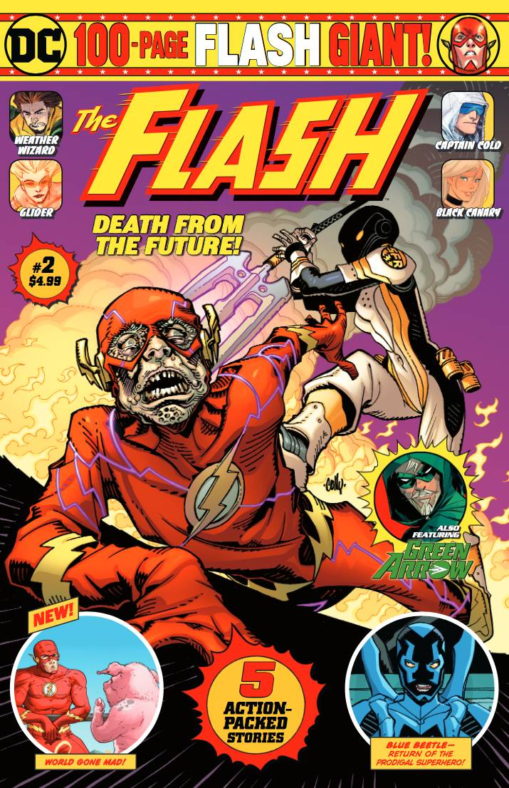 The Flash 100 Page-Giant #2