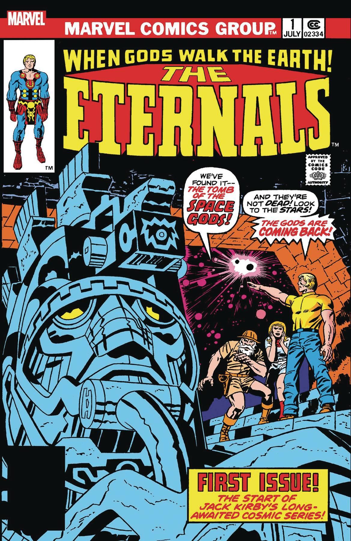 The Eternals #1 (2019)