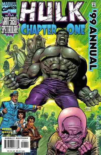 The Incredible Hulk Annual #1999 (1999)