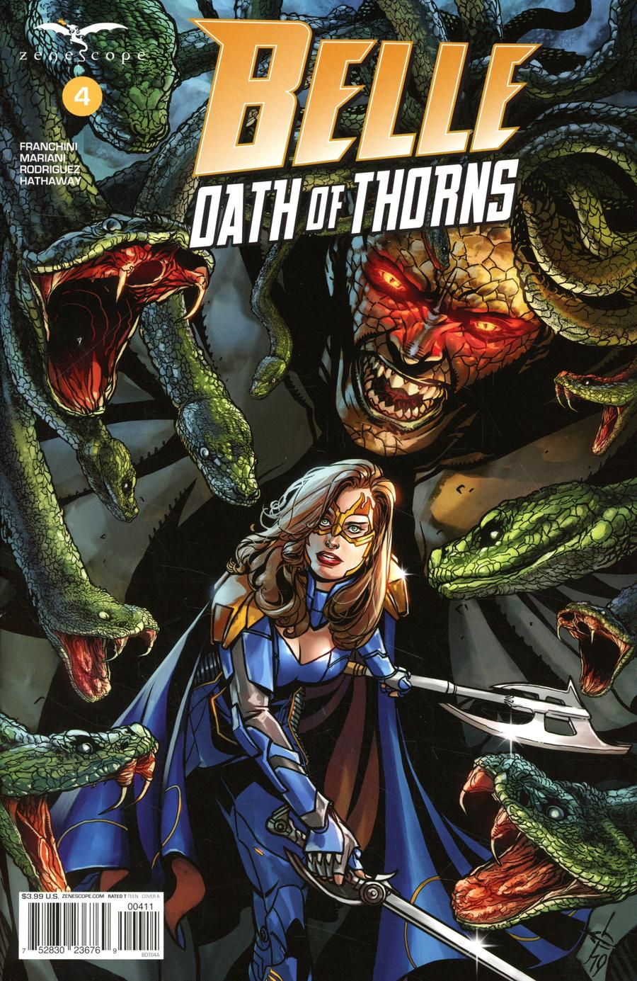 Belle: Oath Of Thorns #4 (2020)