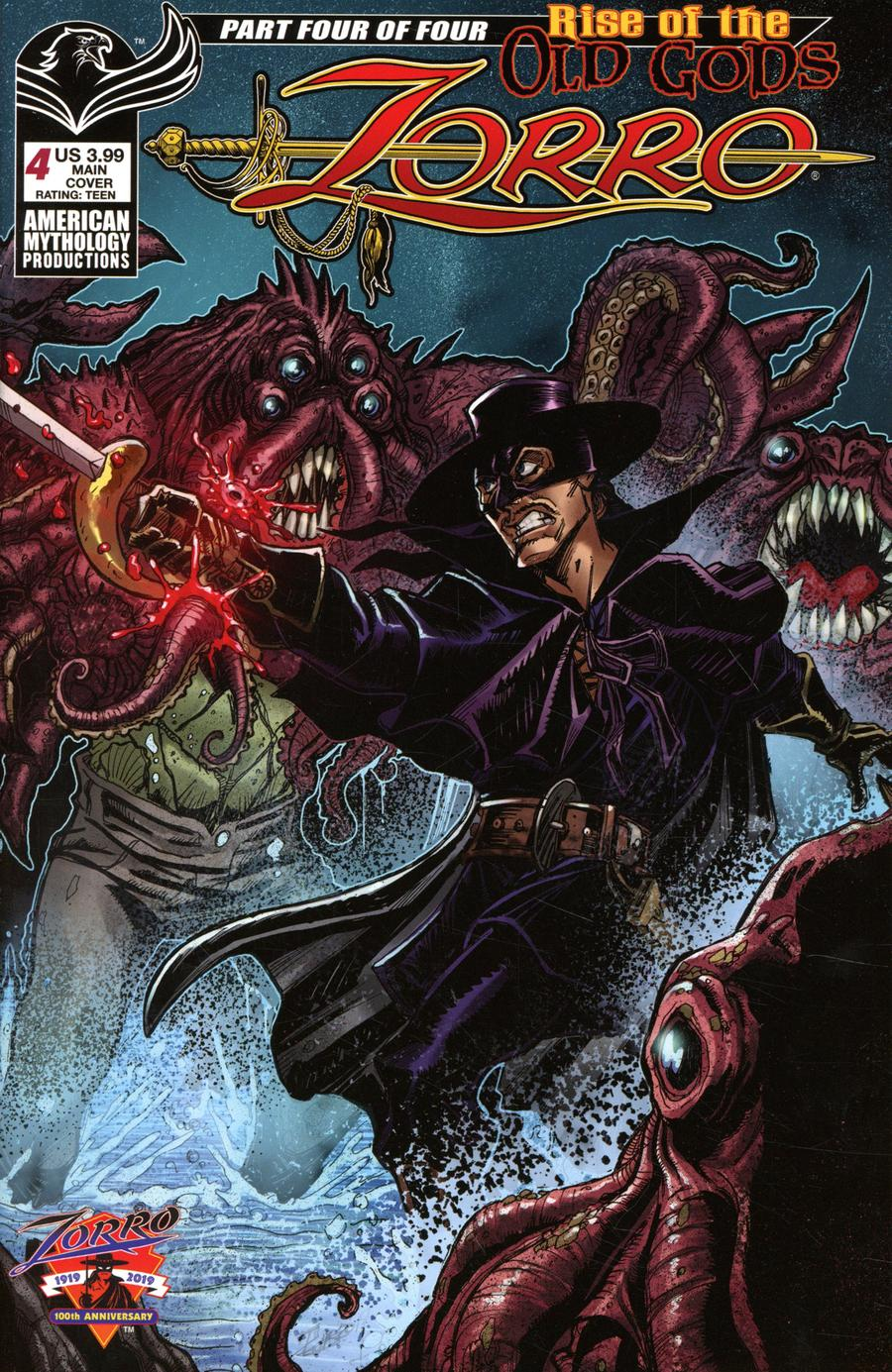 Zorro: Rise Of The Old Gods #4 (2020)