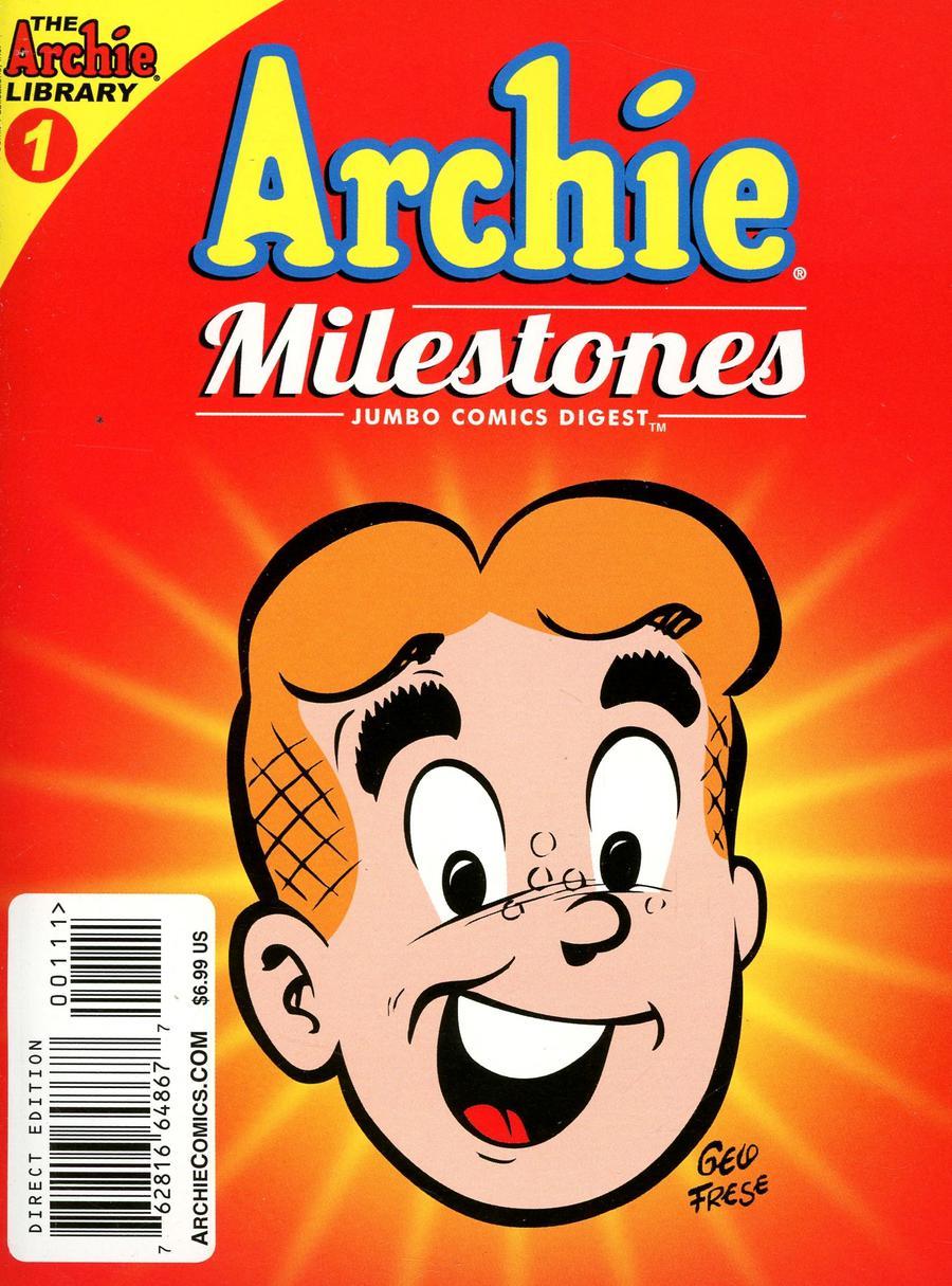 Archie Milestones Jumbo Comics Digest #1 (2019)