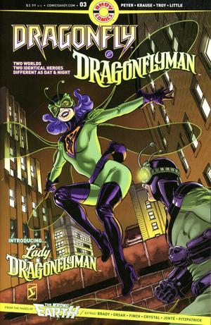 Dragonfly & Dragonflyman #3 (2020)