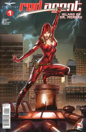 Red Agent: Island of Dr Moreau #1 (2020)