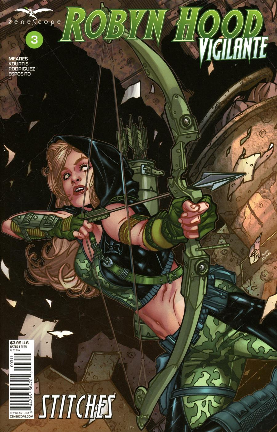 Robyn Hood: Vigilante #3 (2020)