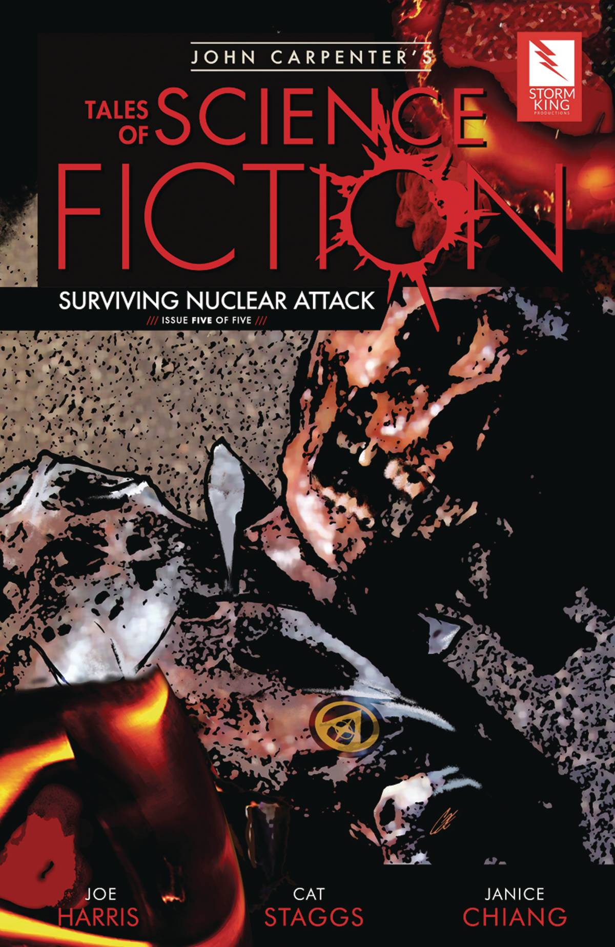 John Carpenter's Tales of Science Fiction: Surviving Nuclear Attack #5 (2020)