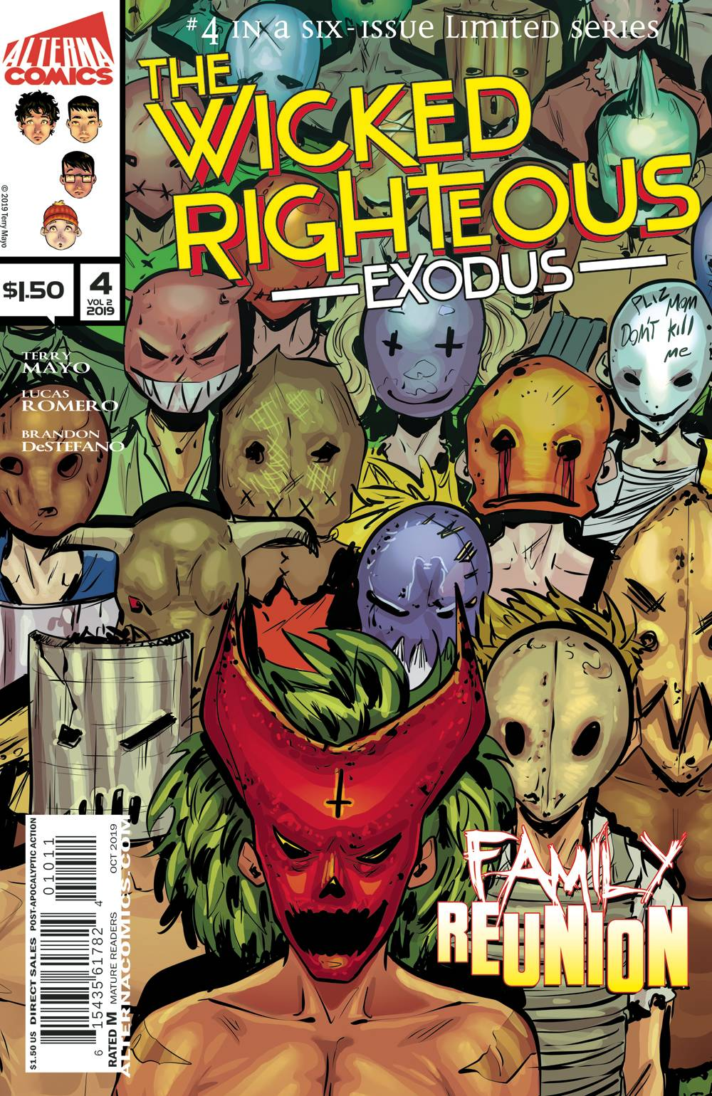 The Wicked Righteous: Exodus #4 (2020)