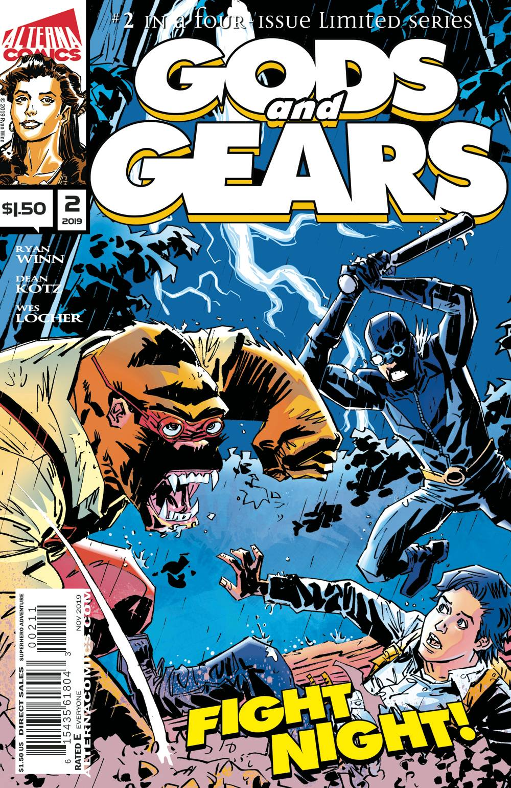 Gods and Gears #2 (2020)