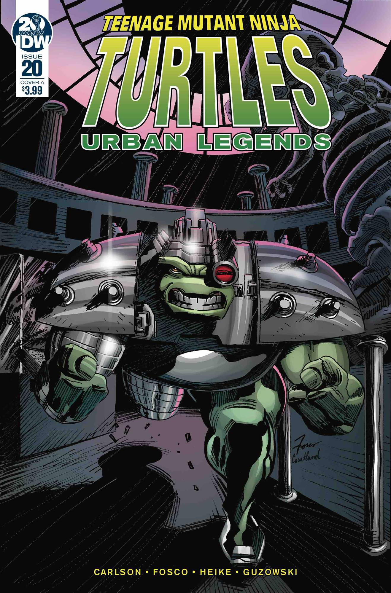 Teenage Mutant Ninja Turtles: Urban Legends #20 (2020)