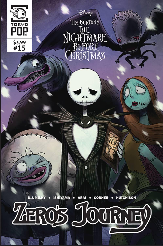 The Nightmare Before Christmas: Zero's Journey #15 (2020)