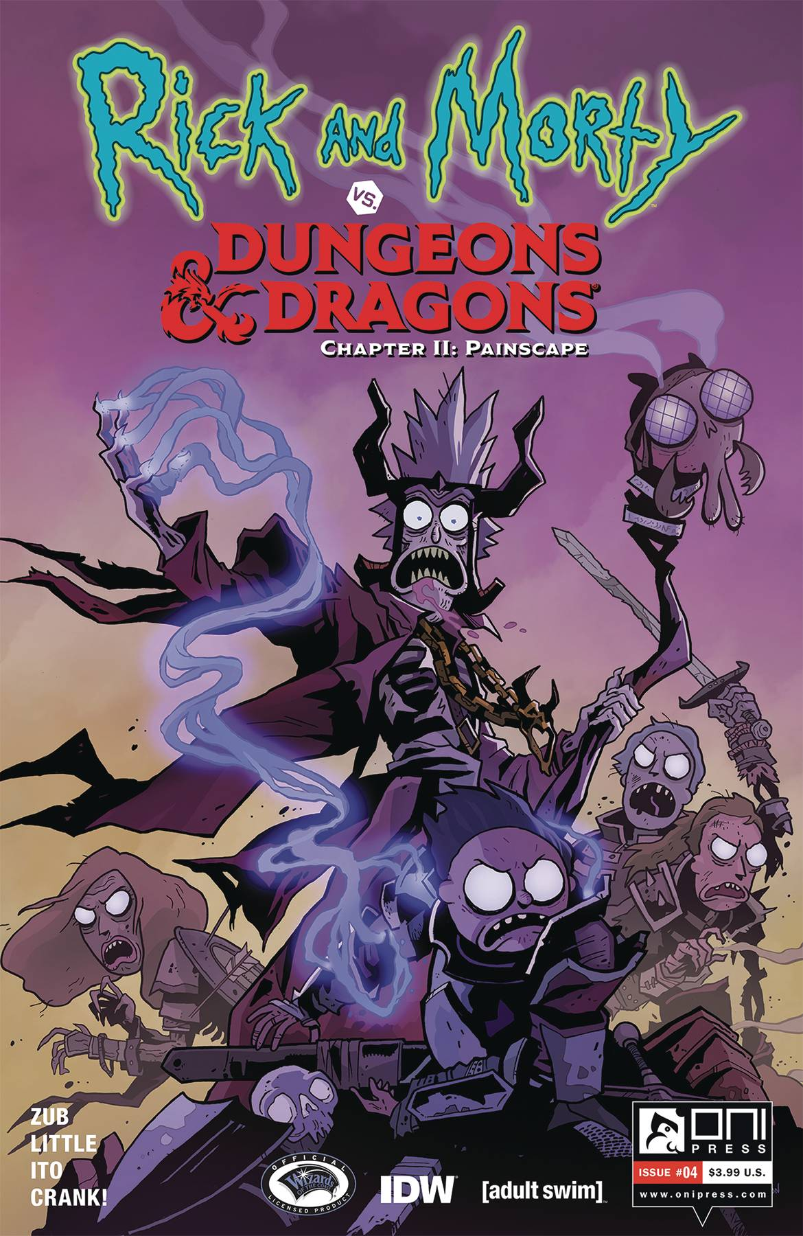 Rick and Morty vs Dungeons & Dragons II: Painscape #4 (2020)