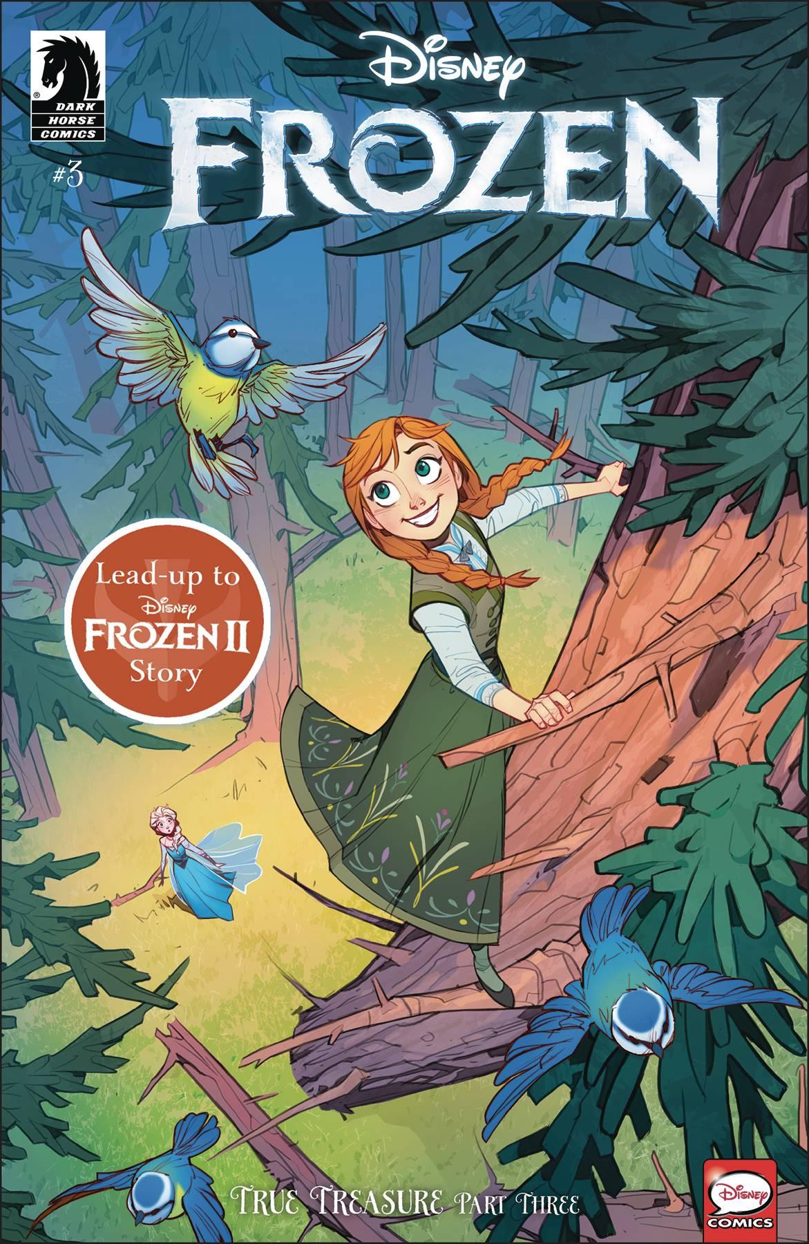 Disney Frozen: True Treasure #3 (2020)