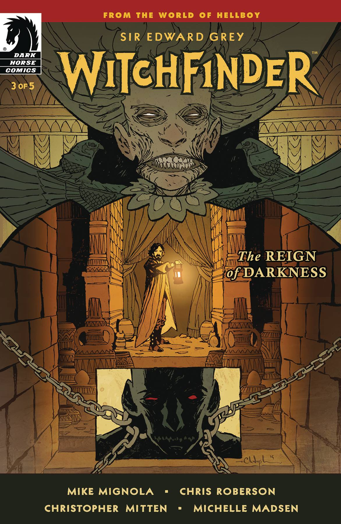 Witchfinder: Reign Of Darkness #3 (2020)