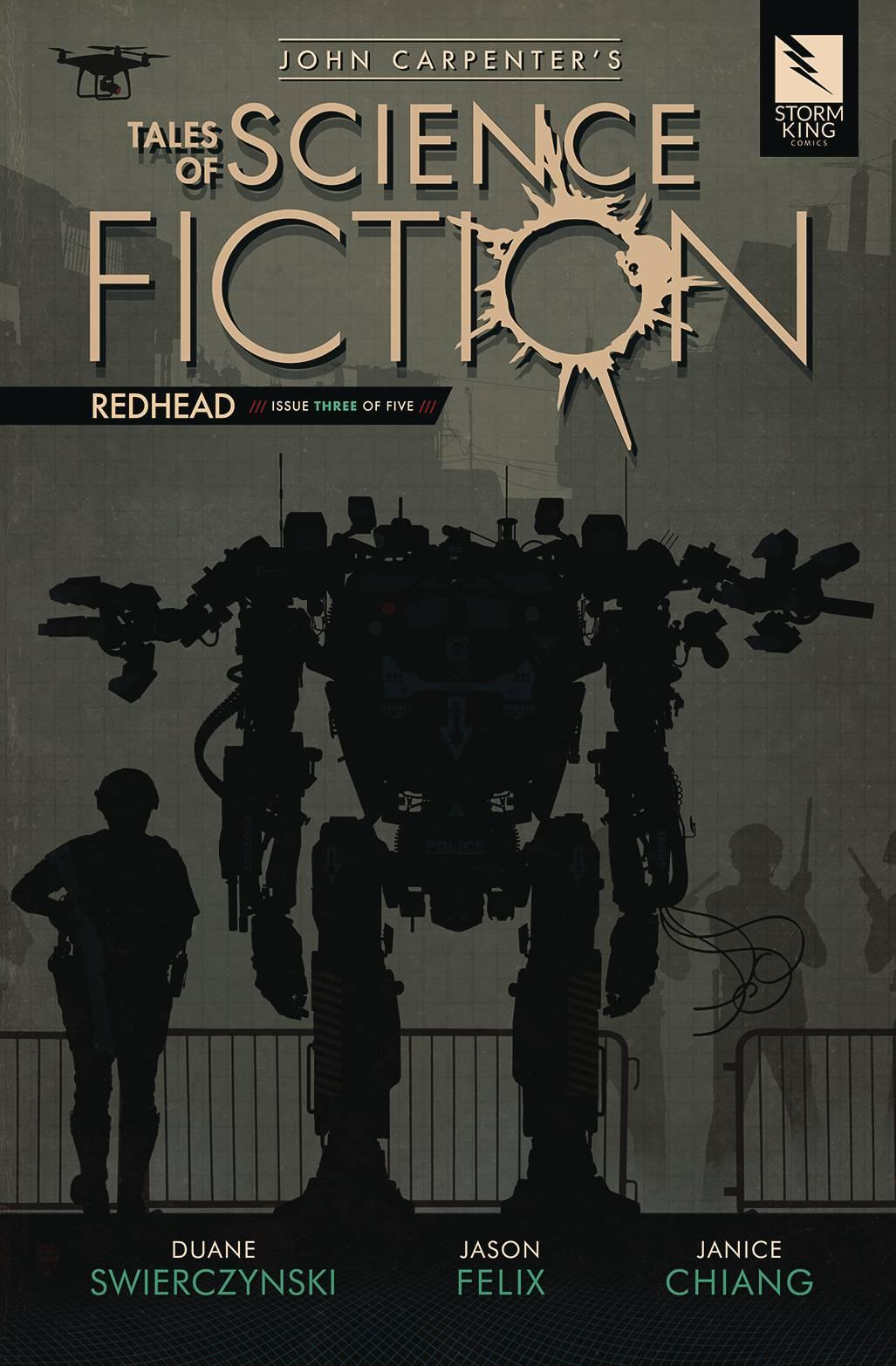 John Carpenter's Tales Science Fiction: Redhead #3 (2020)