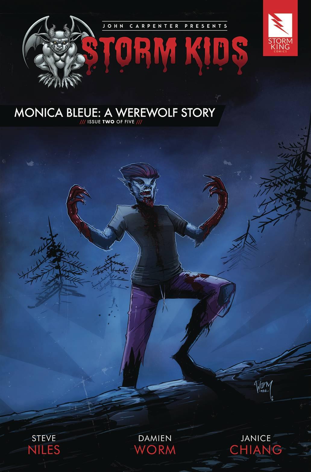 Storm Kids: Monica Bleue - A Werewolf Story #2 (2020)