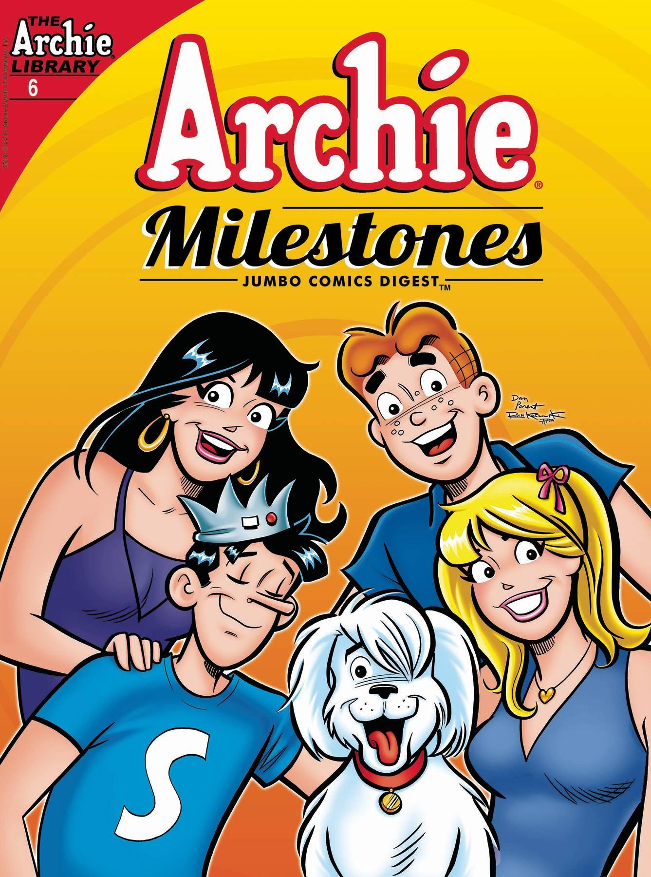 Archie Milestones Jumbo Comics Digest #6 (2020)