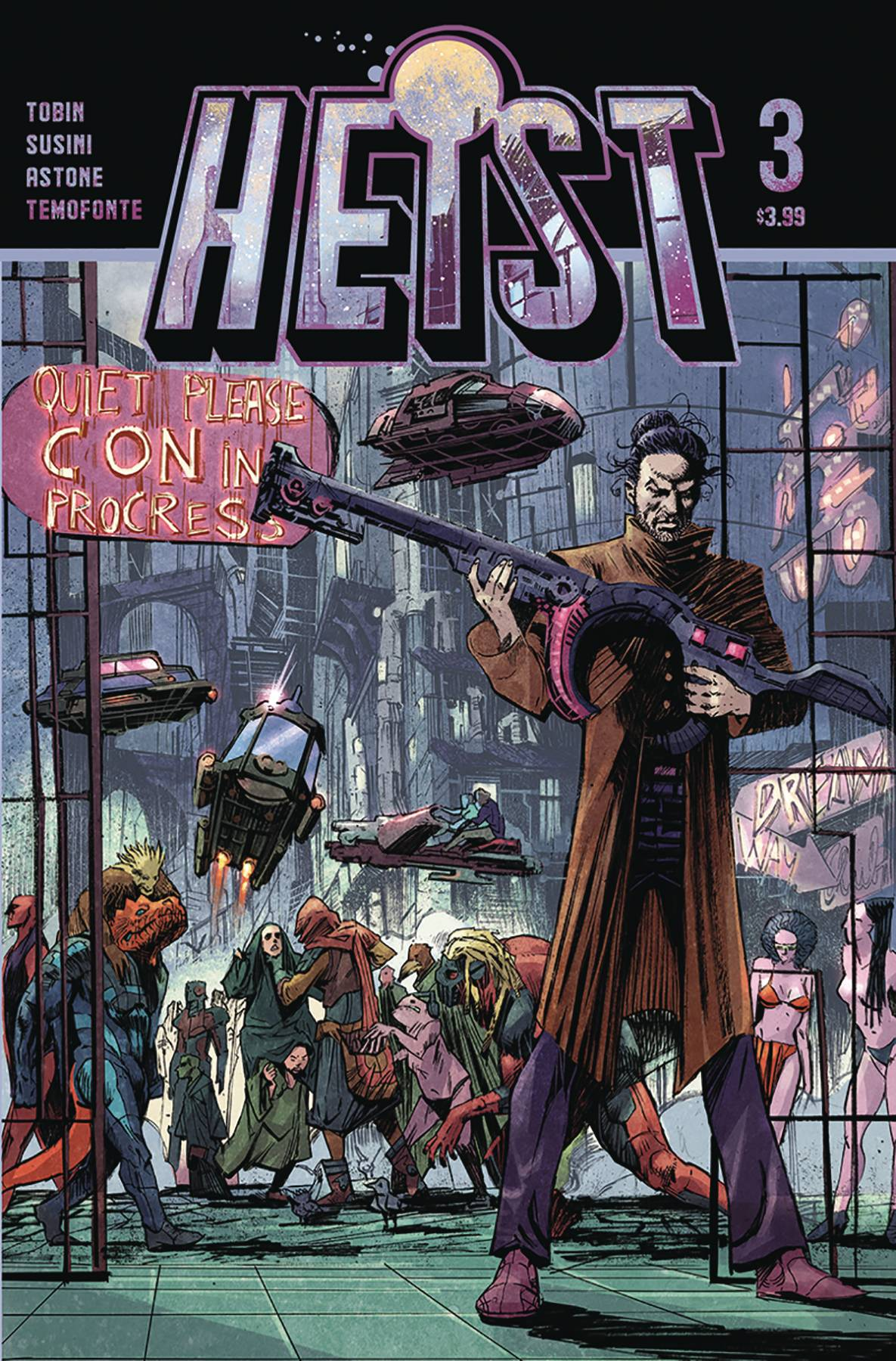 Heist: How To Steal A Planet #3 (2020)
