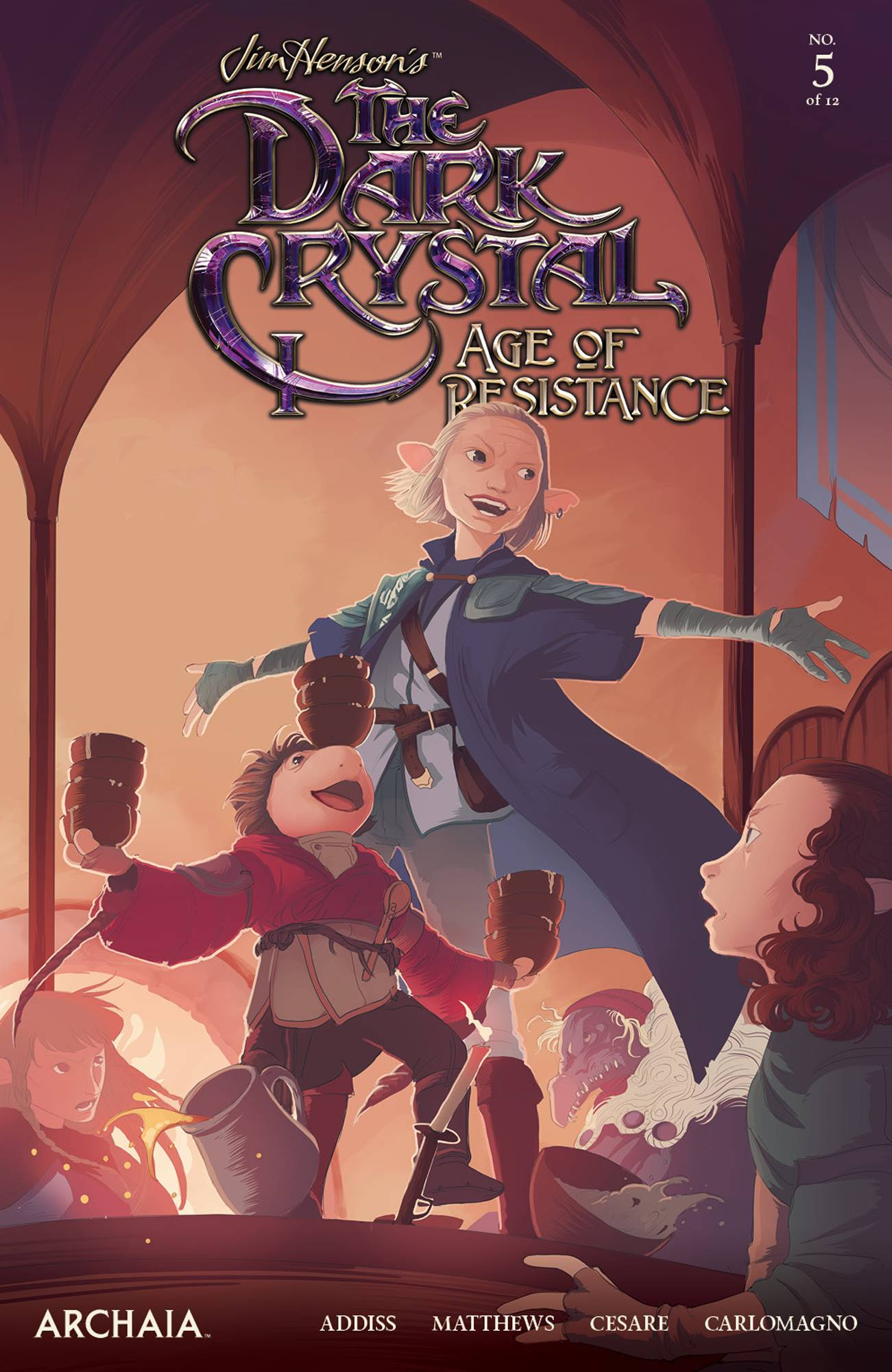 Jim Henson's The Dark Crystal: Age Of Resistance #5 (2020)