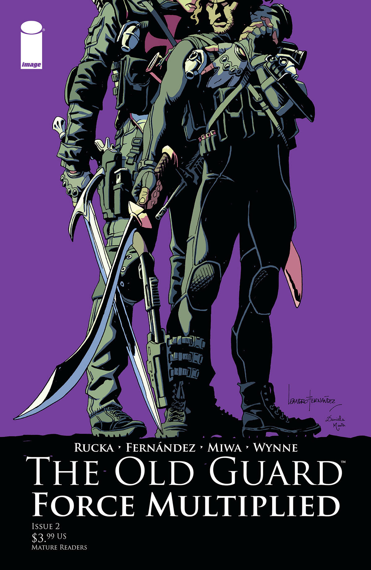 The Old Guard: Force Multiplied #2 (2020)