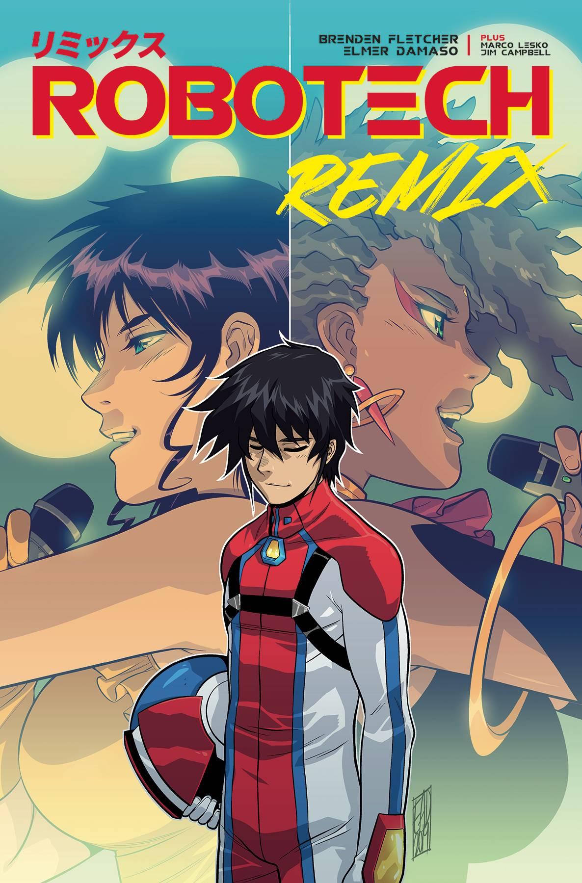 Robotech Remix #4 (2020)