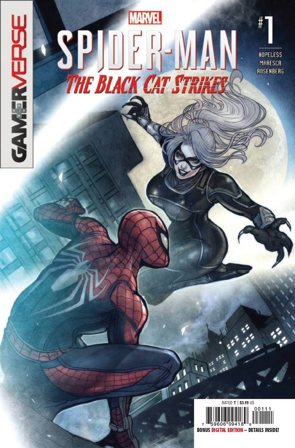Spider-Man: Black Cat Strikes #1 (2020)