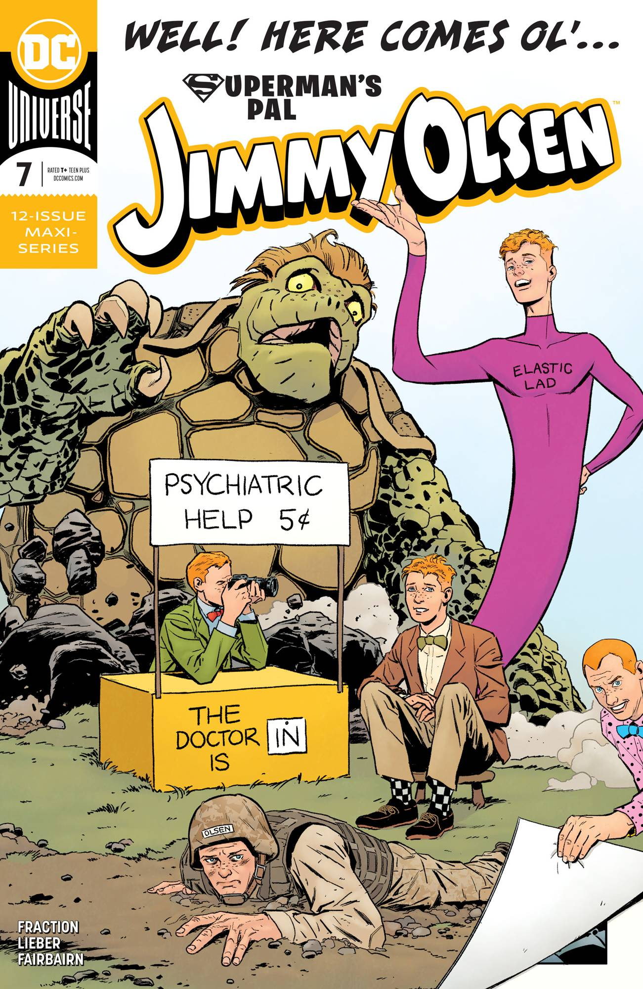 Superman's Pal, Jimmy Olsen #7 (2020)