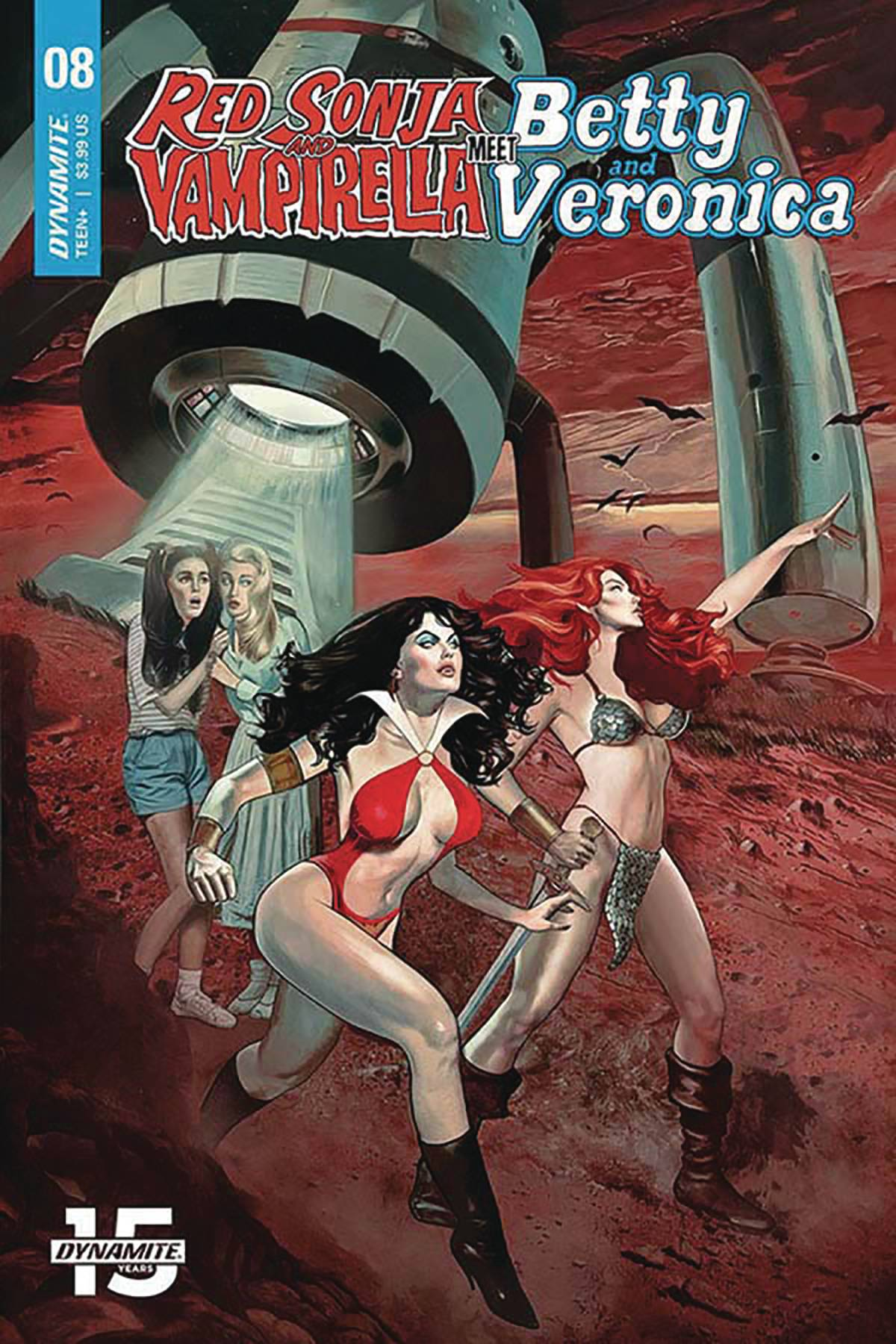 Red Sonja & Vampirella Meet Betty & Veronica #8 (2020)
