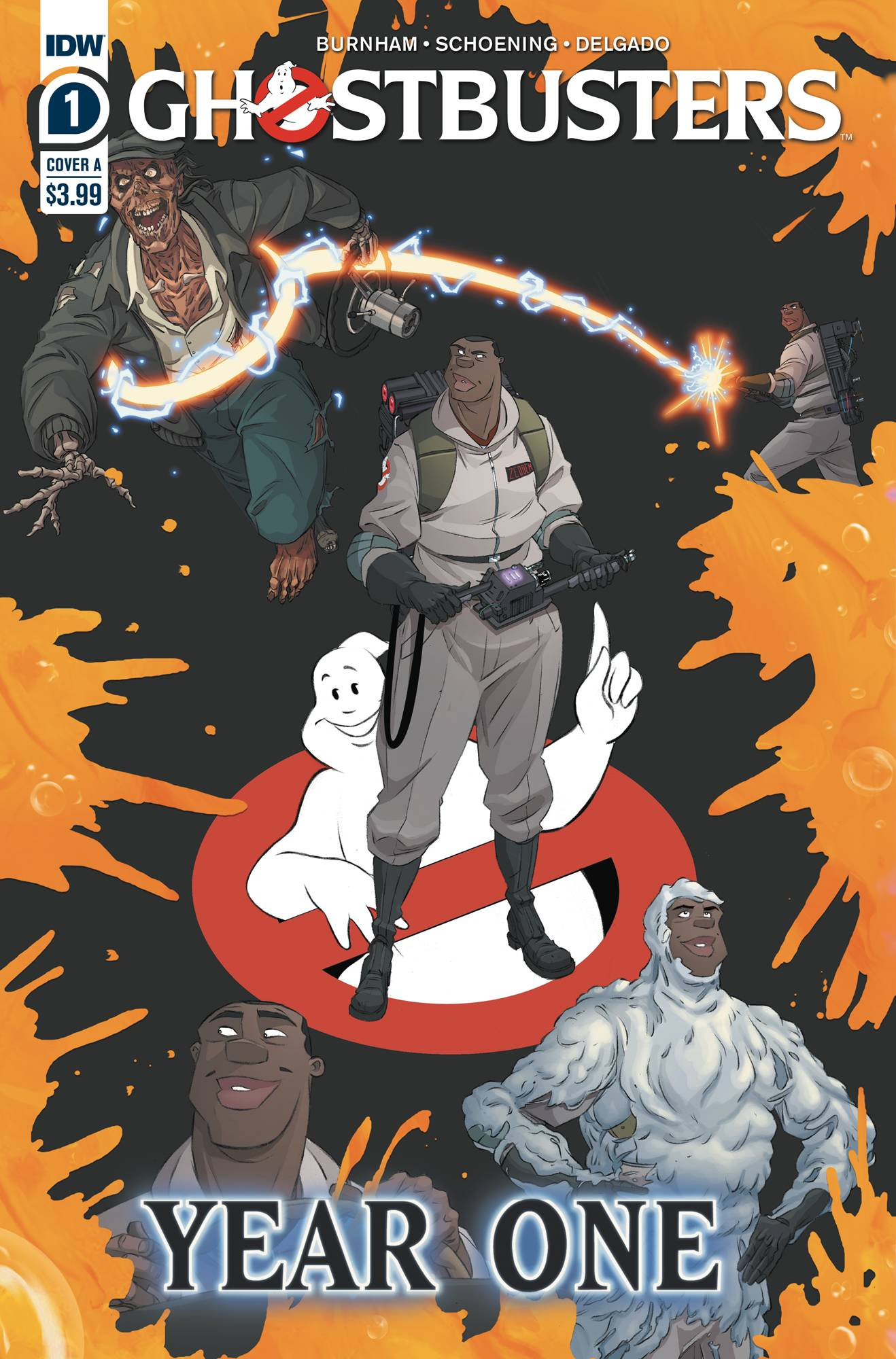 Ghostbusters: Year One #1 (2020)