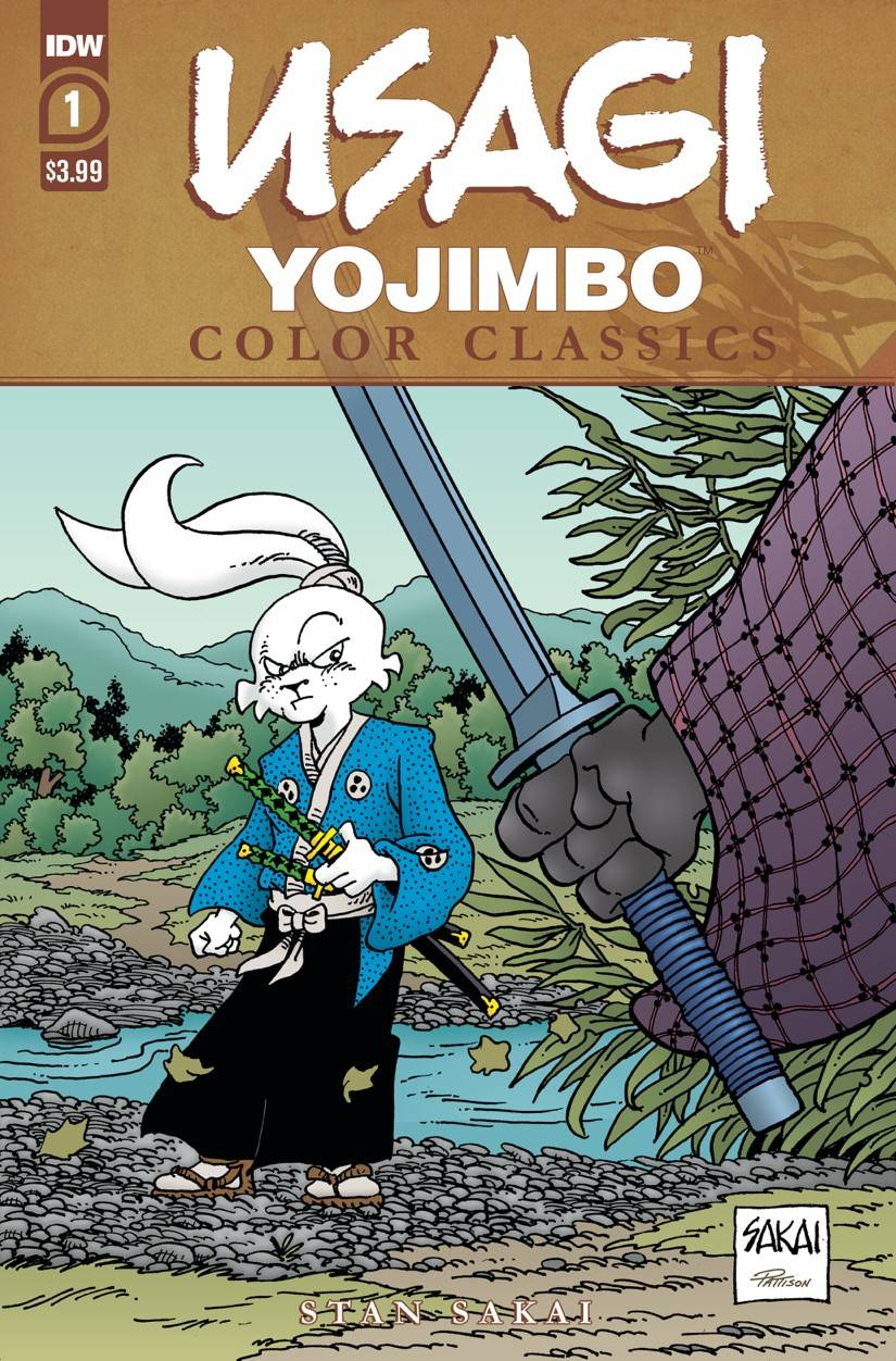 Usagi Yojimbo: Color Classics #1 (2020)