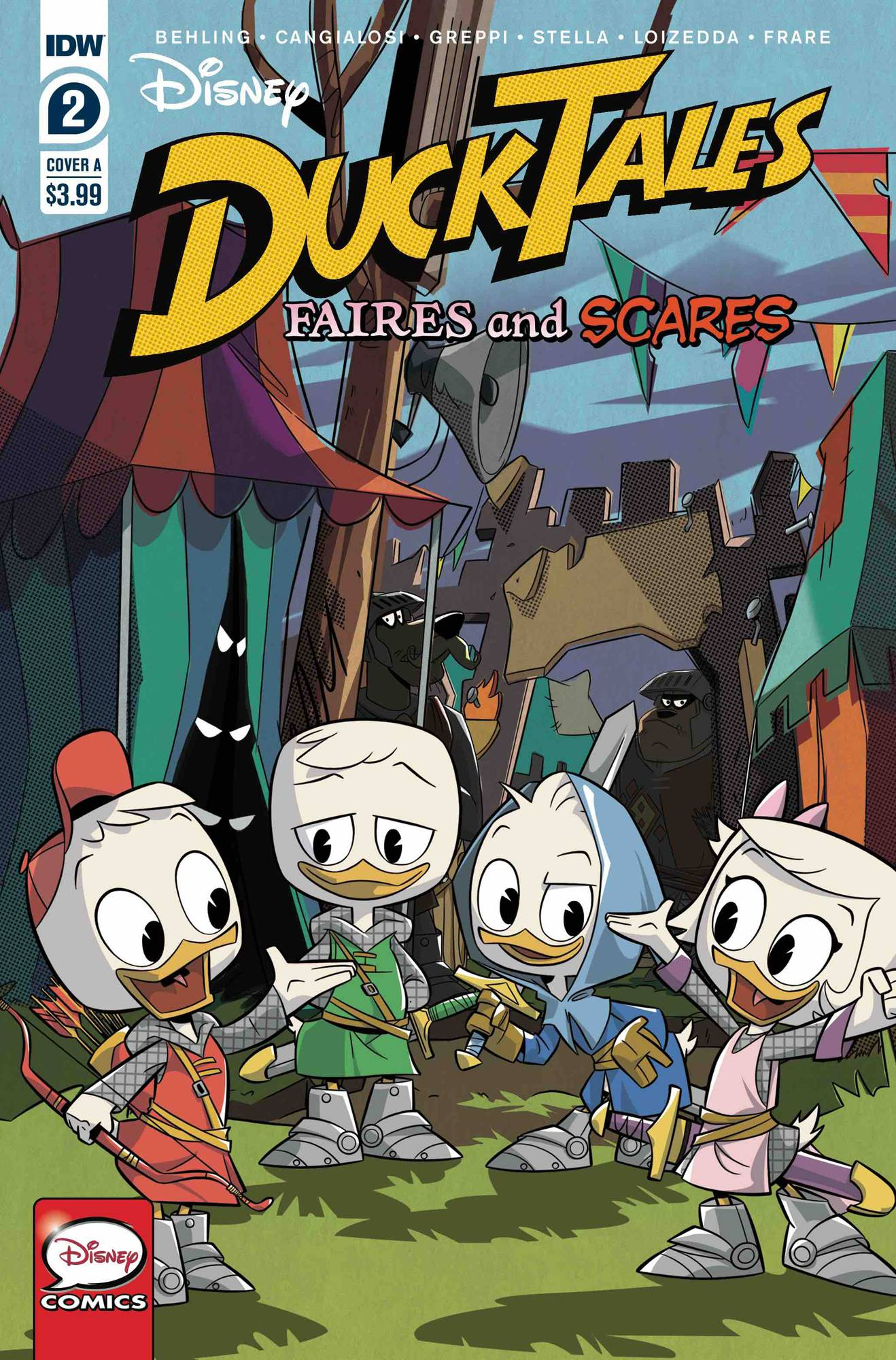DuckTales: Faires & Scares #2 (2020)