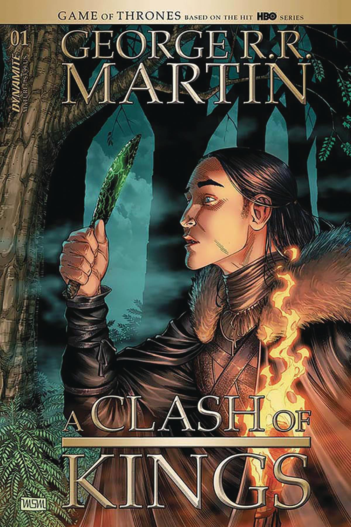 George RR Martin's A Clash Of Kings #1 (2020)