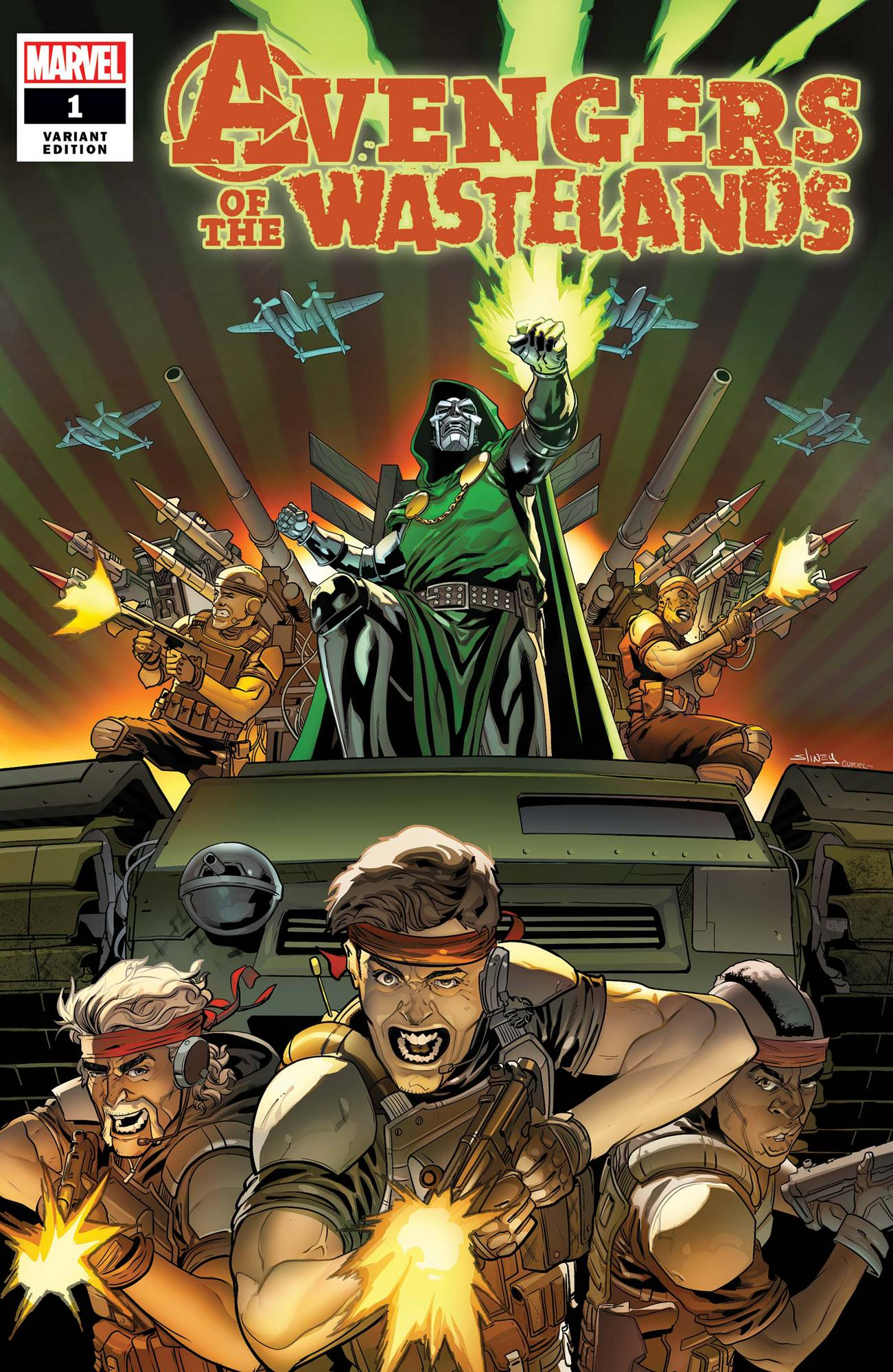 Avengers Of The Wastelands #1 - CovrPrice
