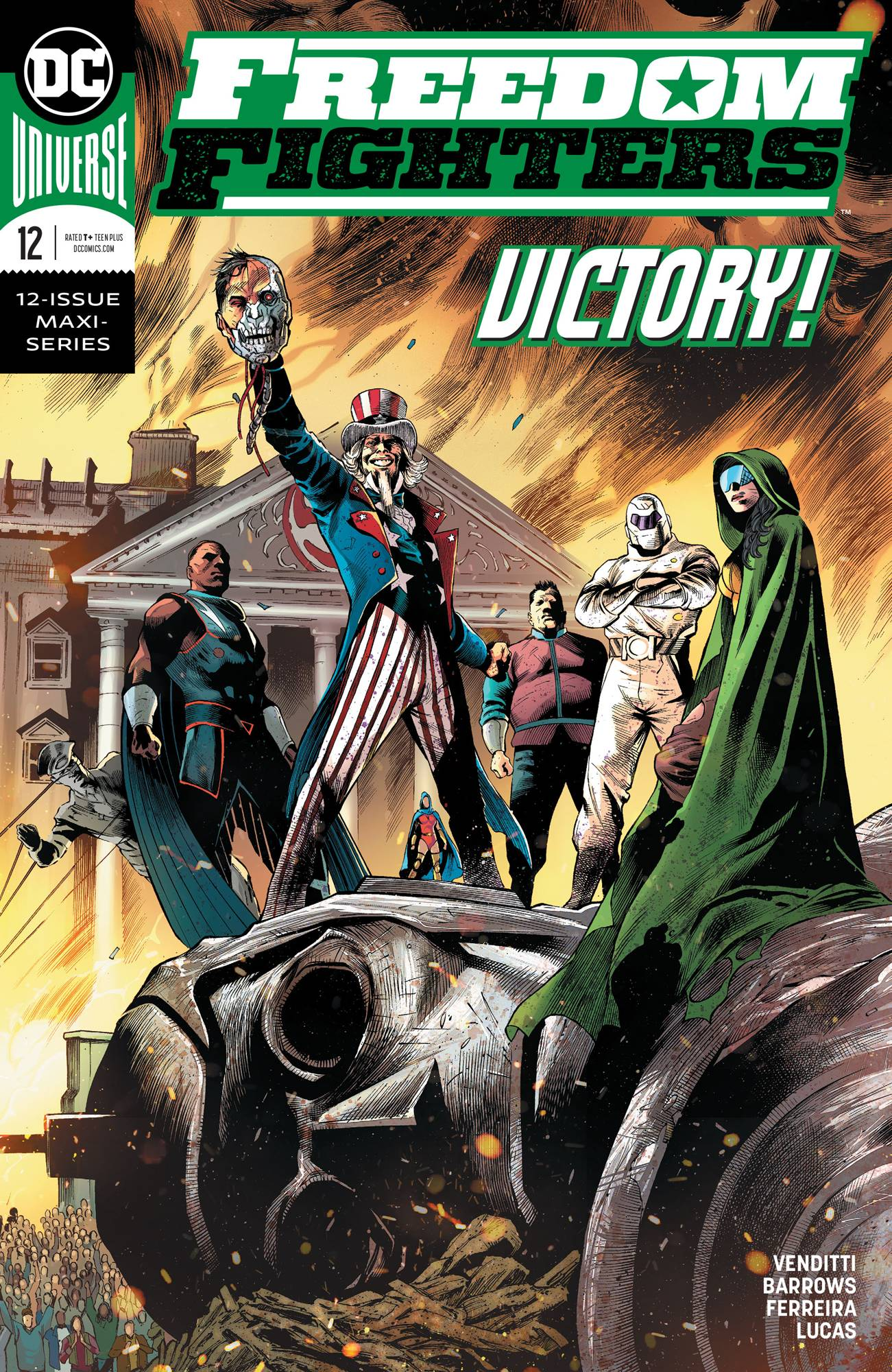 Freedom Fighters #12 (2020)