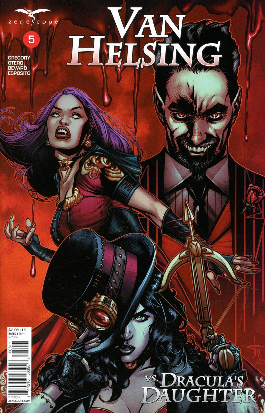 Van Helsing Vs Draculas Daughter #5 (2020)