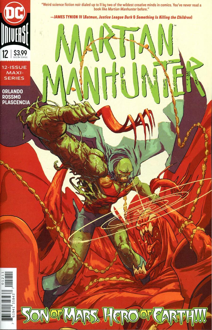 Martian Manhunter #12 (2020)