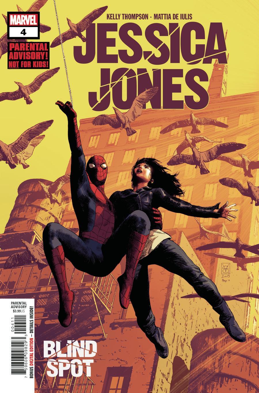 Jessica Jones: Blind Spot #4 (2020)