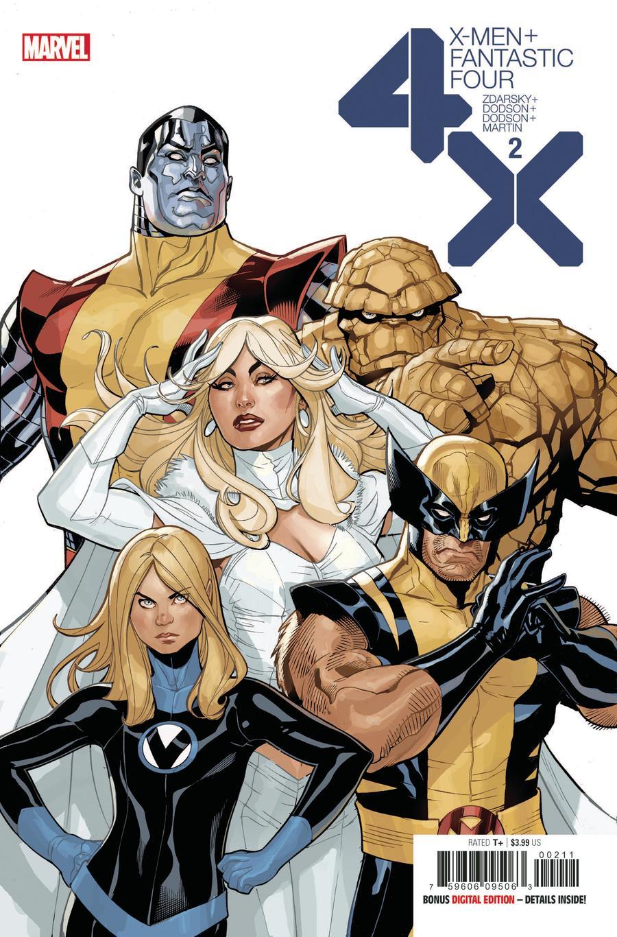 X-Men Fantastic Four #2 (2020)