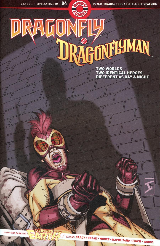 Dragonfly & Dragonflyman #4 (2020)