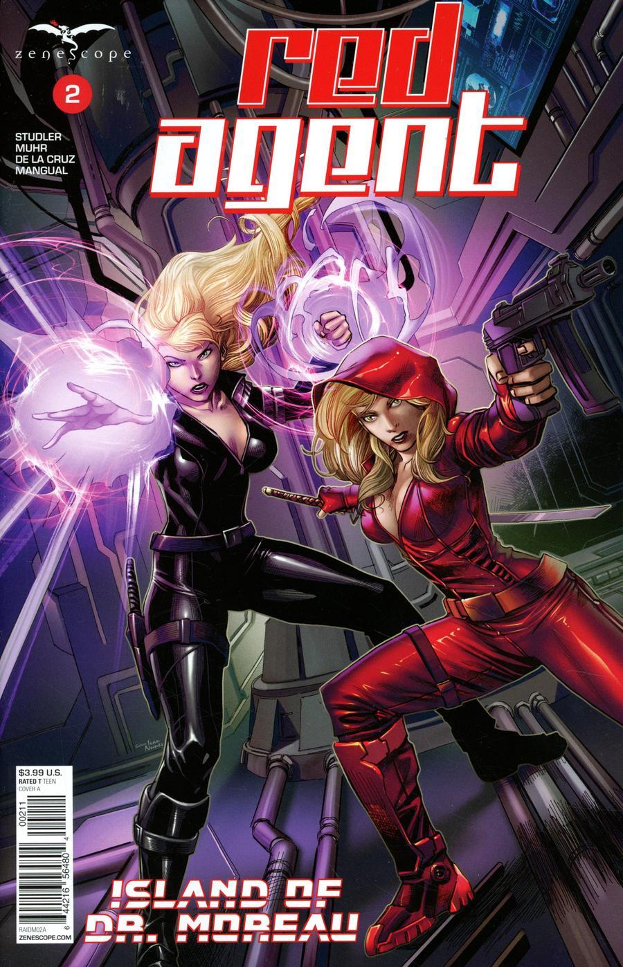 Red Agent: Island of Dr Moreau #2 (2020)