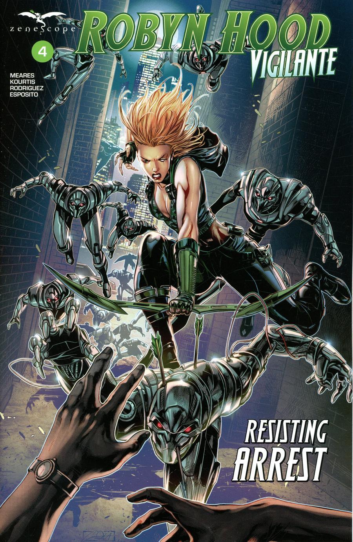 Robyn Hood: Vigilante #4 (2020)