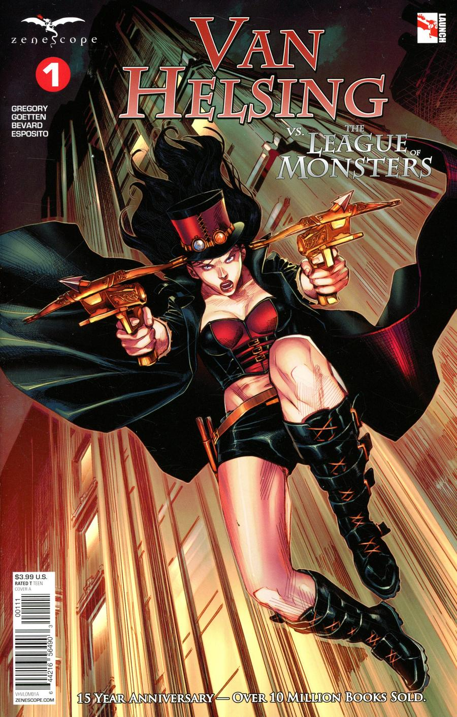 Van Helsing Vs The League of Monsters #1 (2020)
