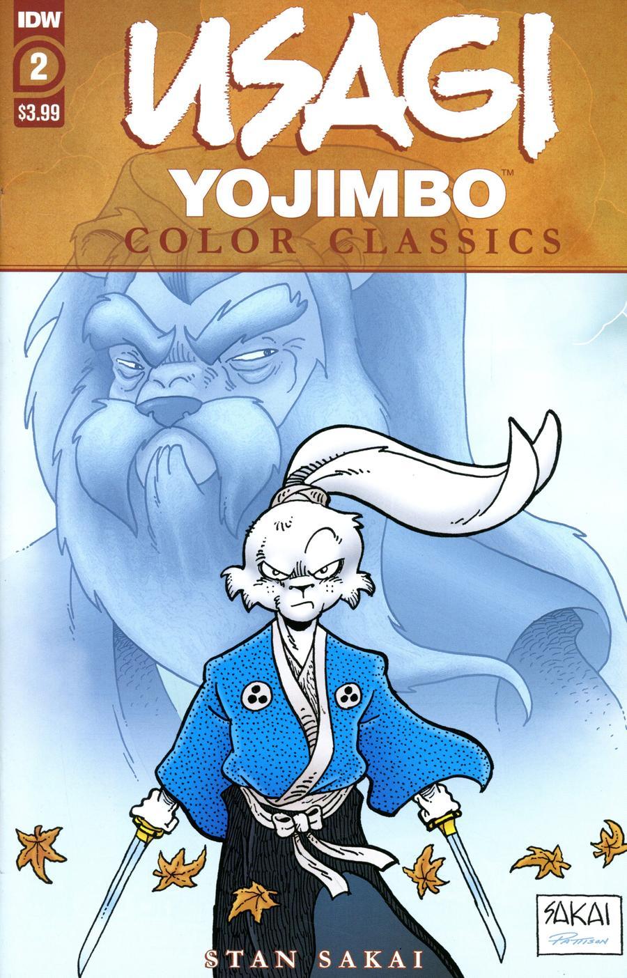 Usagi Yojimbo: Color Classics #2 (2020)