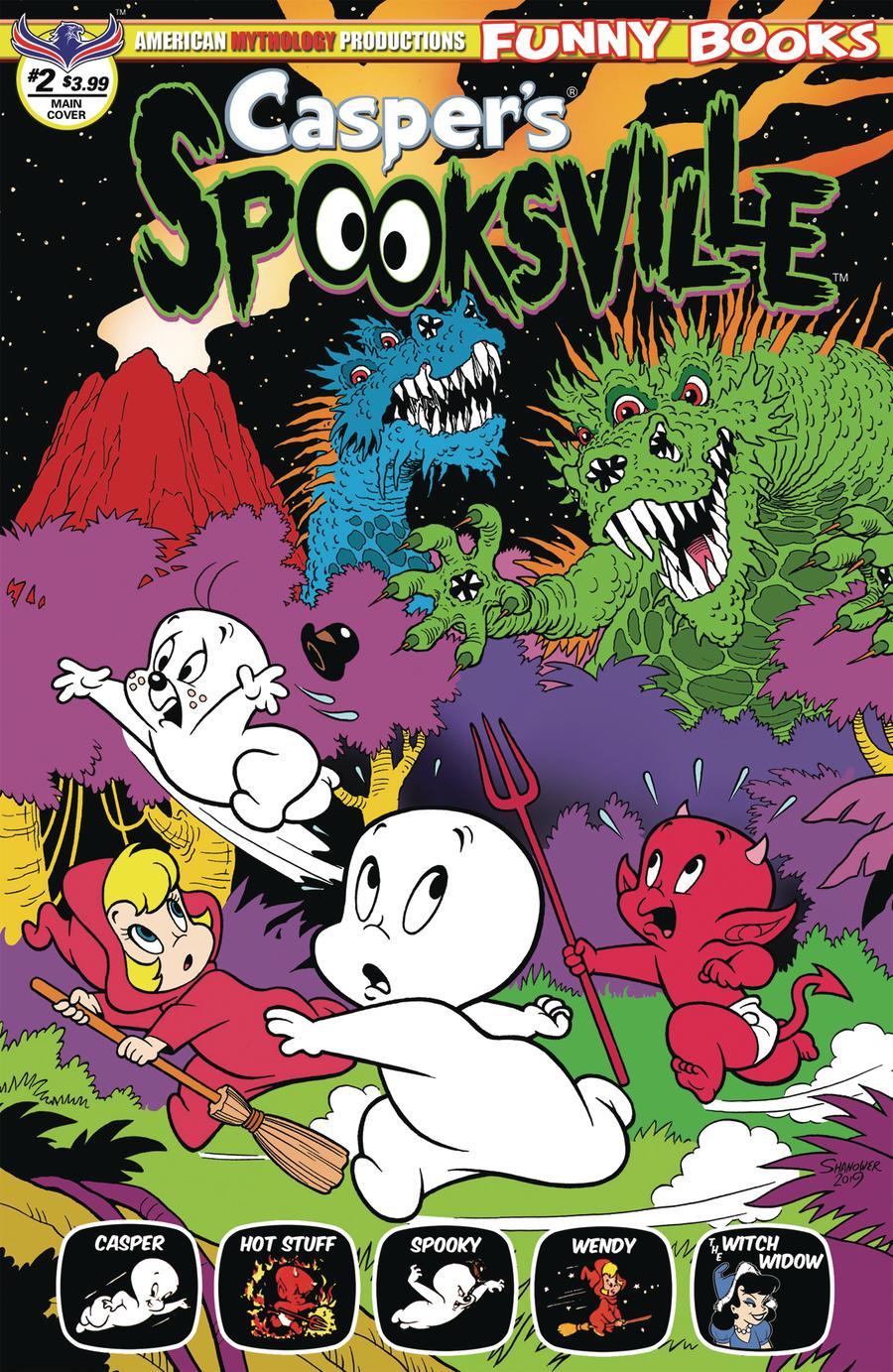 Casper's Spooksville #2 (2020)
